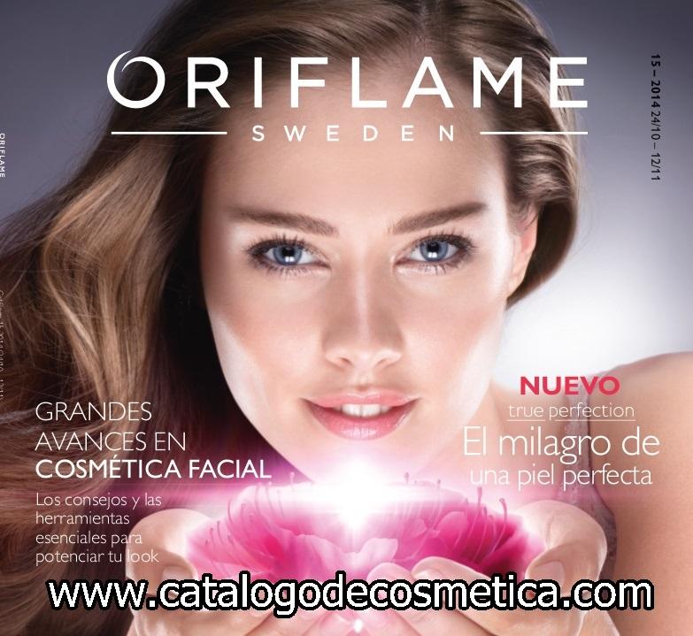 portada catalogo 15 Oriflame