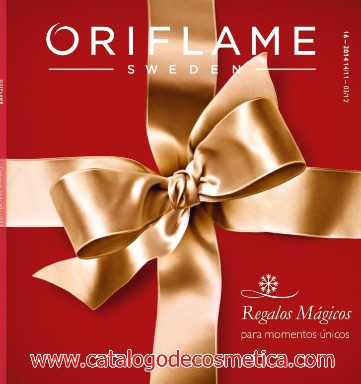 portada del catalogo 16 de Oriflame