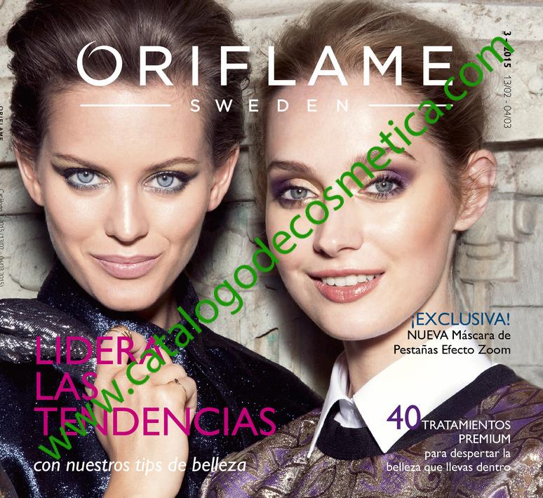 Catalogo  3 de Oriflame, portada