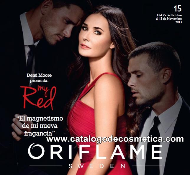 portada del catalogo de Oriflame